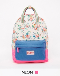 Cath Kidston Small Cotton Backpack Cream