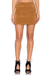 Motel Nadia Skirt Tan