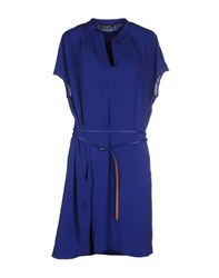 Loro Piana Dresses Short Dresses Women Blue
