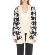 Sandro Christy Knitted Cardigan Multicolore