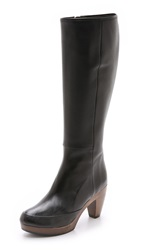 Coclico Nell Tall Clog Boots Black