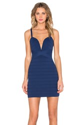 Nbd X Revolve Baby I'm Yours Bodycon Dress Navy
