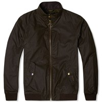Barbour Steve Mcqueen Merchant Wax Jacket Green