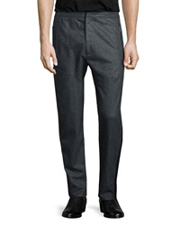 Rag And Bone Sector Cashmere Blend Track Pants Charcoal