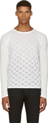 Band Of Outsiders White Journal Dots T Shirt
