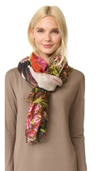 Yigal Azrouel Printed Scarf Bright Green