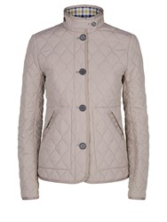 Aquascutum London Stoney Quilted Jacket Brown