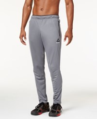 Reebok Men's Playdry Slim Track Pants Gray