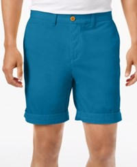 Tommy Hilfiger Custom Fit Chino Shorts French Blue
