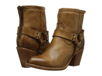 Frye Tabitha Harness Short Camel Soft Vintage Leather Cowboy Boots Tan