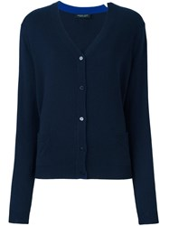 Twin Set Buttoned Cardigan Blue