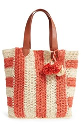 Sole Society 'Sherwood' Straw Beach Tote