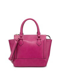 Neiman Marcus Convertible Satchel Bag Grape
