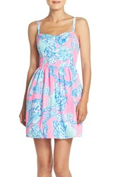 Women's Lilly Pulitzer 'Ardleigh' Print Cotton Fit And Flare Dress
