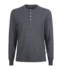 Tom Ford Long Sleeved T Shirt Male Grey