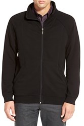 Calibrate Zip Front French Terry Jacket Black