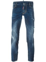 Dsquared2 'Crotch Packo' Jeans Blue