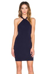 Twenty Halter Neck Mini Dress Navy