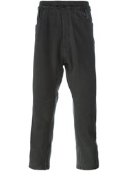 Haider Ackermann Cropped Track Pants Grey