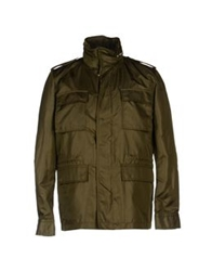 Blk Dnm Jackets Military Green