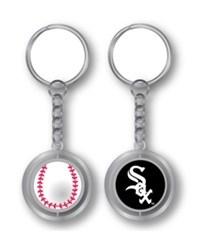 Aminco Chicago White Sox Spinning Baseball Key Ring
