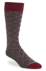 Men's Hook Albert 'Diagonal Line' Socks