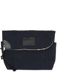 Dsquared Waxed Cotton Canvas Messenger Bag