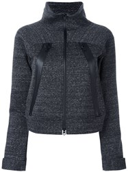 Y 3 Zip Up Cardigan Grey