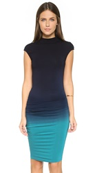 Young Fabulous And Broke Nora Dress Navy Teal