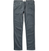 Acne Studios Max Slim Fit Stretch Denim Jeans Anthracite