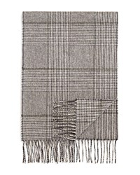 Bloomingdale's The Men's Store At Cashmere Glen Plaid Scarf Pebble Olive