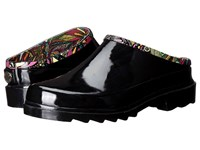 Sakroots Root Black Rainbow Spirit Desert Women's Slip On Shoes