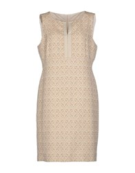 Gigue Dresses Short Dresses Women Beige