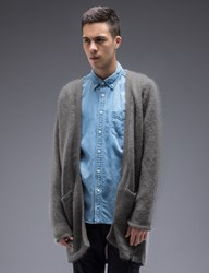 Bedwin And The Heartbreakers Lowe Long Mohair Cardigan