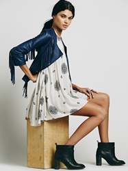 Free People Sleeveless Retro Print Tunic Tea Combo