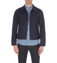 Lee Worker Cotton Jacket Navy