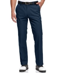 Greg Norman For Tasso Elba 5 Iron Slim Fit Golf Pants Crisp Navy