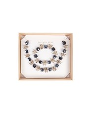 Jacques Vert Crystal Glass Jewellery Set