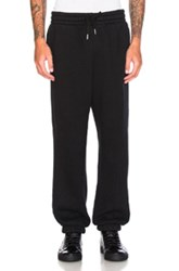 Alexander Wang Fleece Sweatpants In Black
