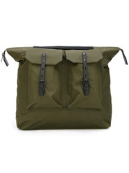 Ally Capellino 'Frank Ripstop' Backpack Green