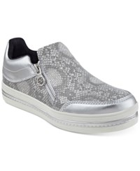 Guess Women's Zanna Slip On Sneakers Women's Shoes Silver