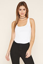 Forever 21 Raw Cut Tank Top