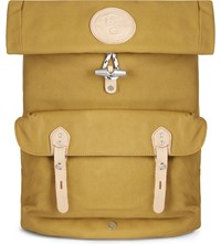 Stighlorgan Reilly Laquered Cotton Canvas Backpack Yellow