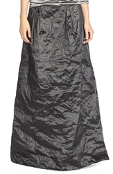 Nicole Miller Techno Metal Ball Skirt Black
