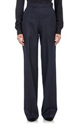 Maison Rabih Kayrouz Twill Wide Leg Trousers Blue