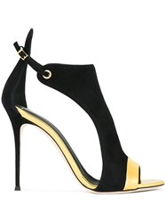 Giuseppe Zanotti Design Open Toe Sandals Black