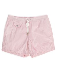 Hartford Pink Seersucker Swim Shorts