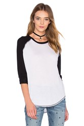 Nsf Lais Tee Black And White