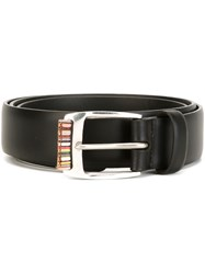 Paul Smith Multi Stripe Belt Black