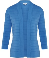 Cc Edge To Edge Ottoman Cardigan Blue